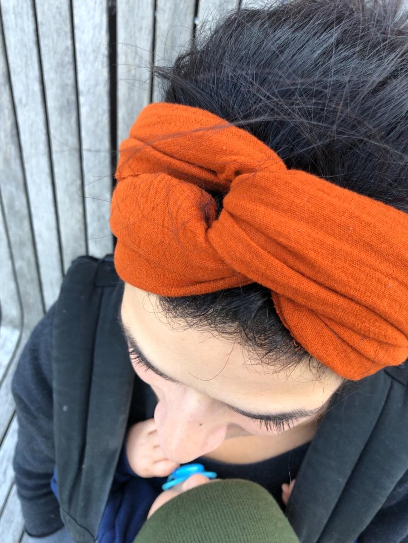 Haarband Musselin 4