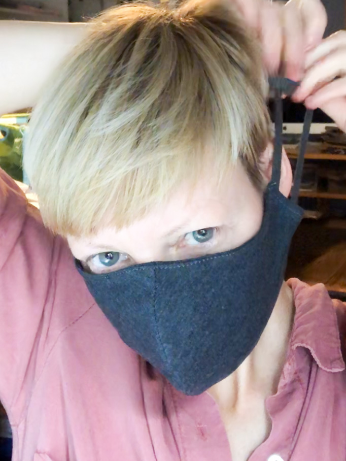 Mundmaske // Mund- und Nasenbedeckung 9