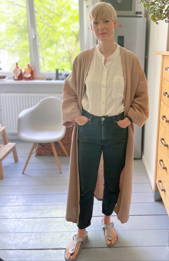 Kimono Mantel 6