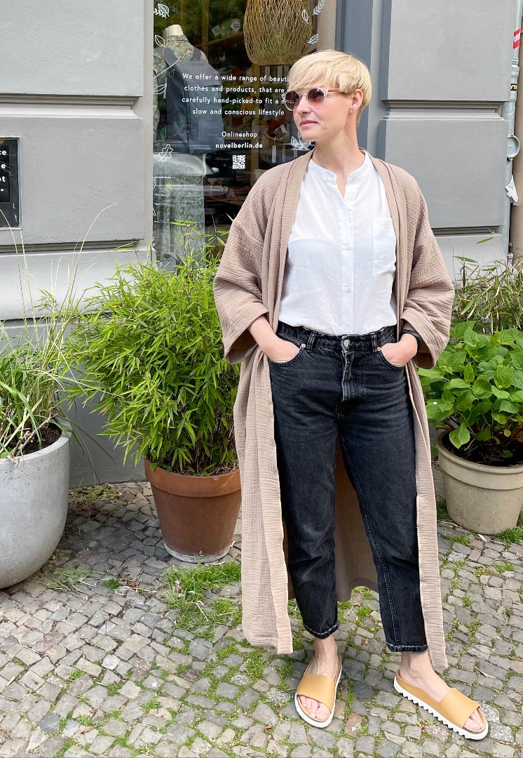Kimono Mantel 4