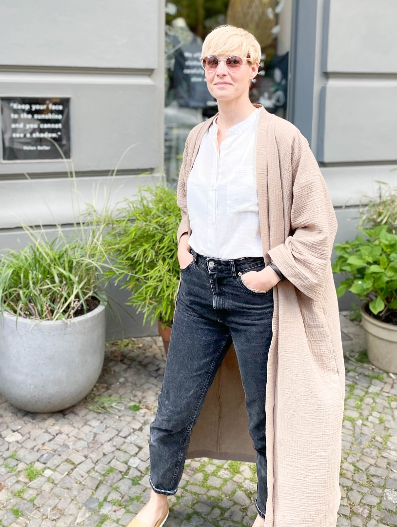 Kimono Mantel 2