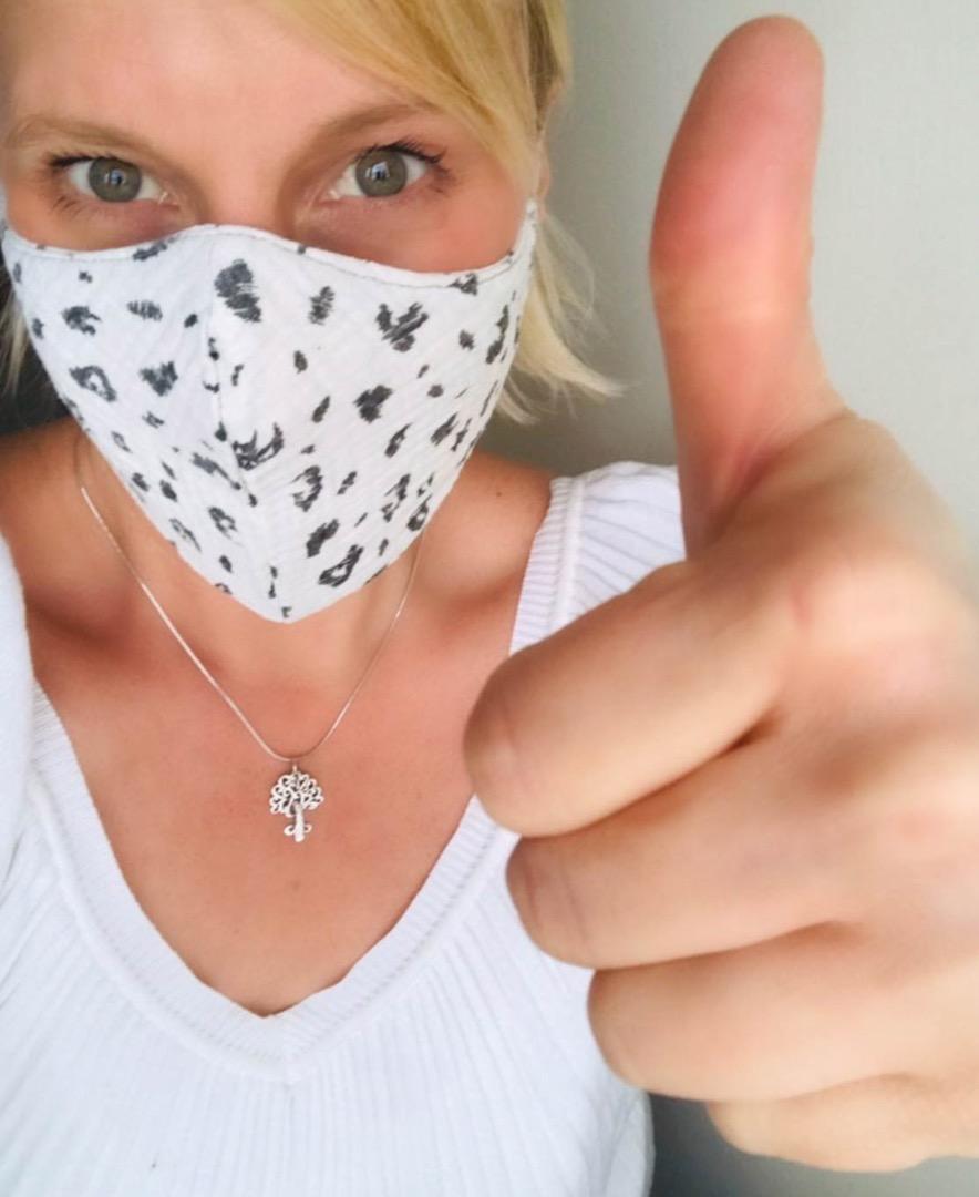 Mundmaske // Mund- und Nasenbedeckung 4