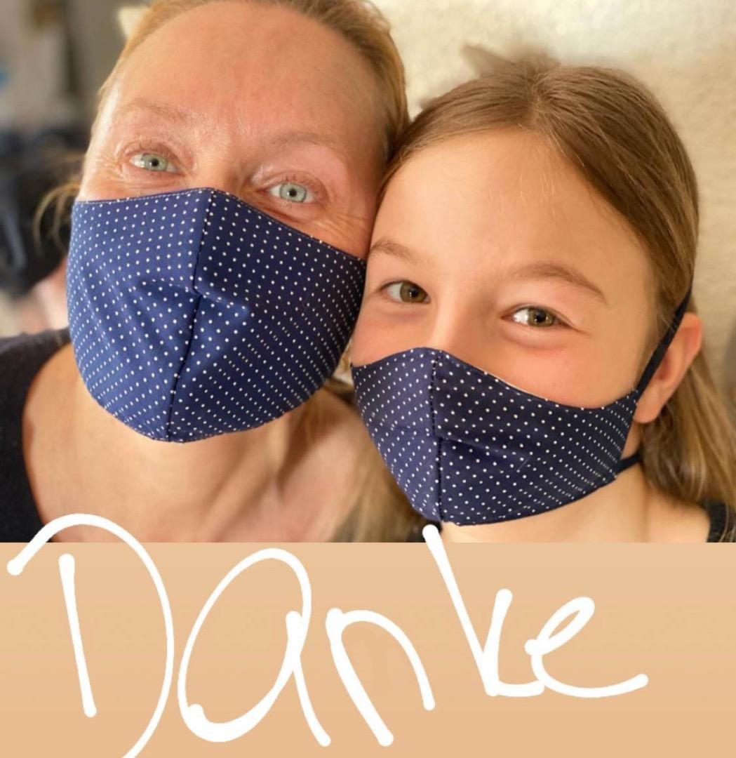 Mundmaske // Mund- und Nasenbedeckung 10