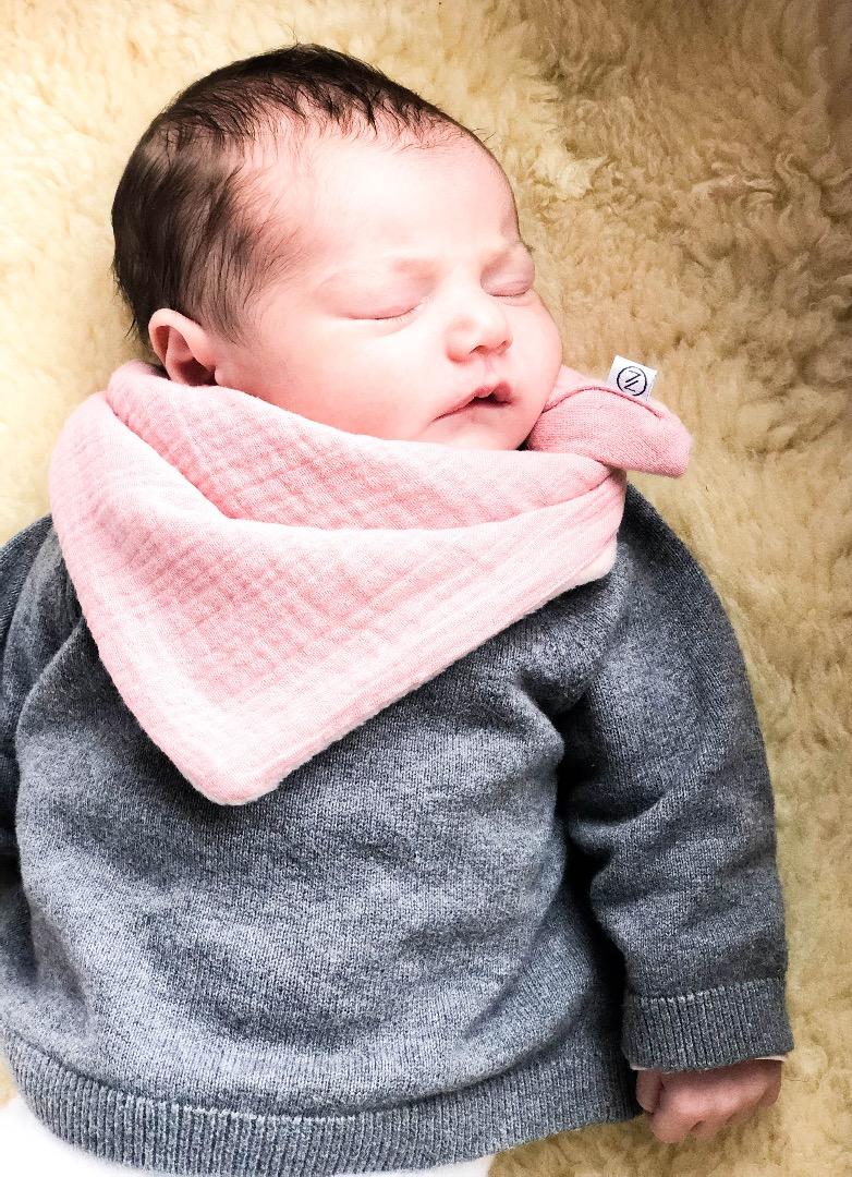 Halstuch für Babys und Neugeborene 8