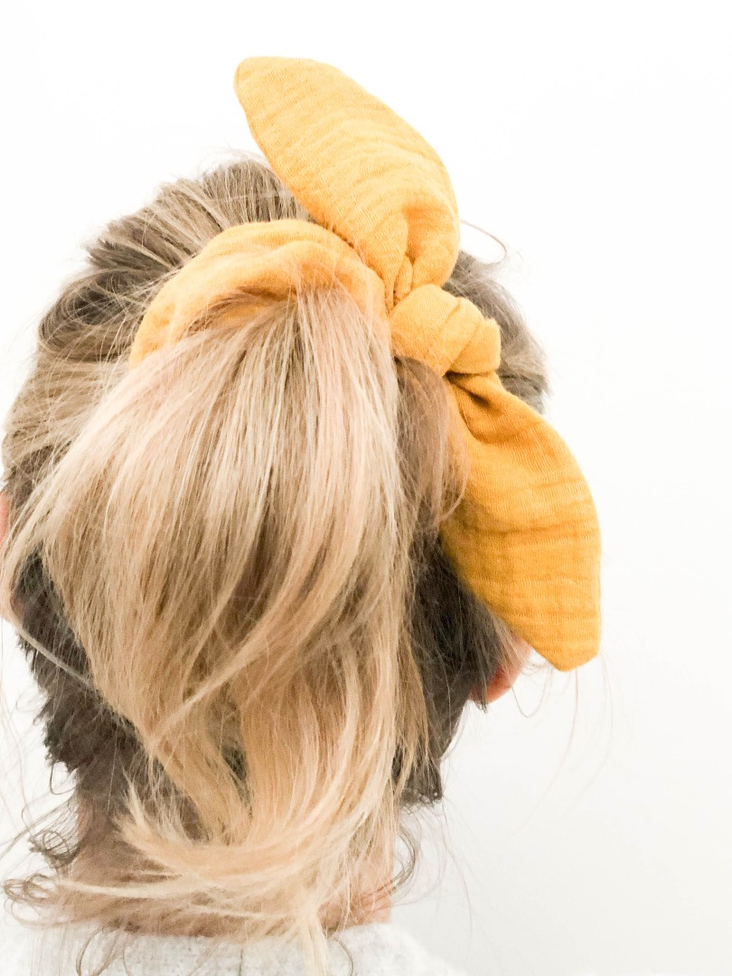 4er Set Scrunchie // Haargummi 5