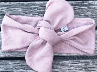 Haarband Baby - Jersey // Rosé
