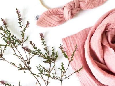 Haarband - Schleife // Musselin