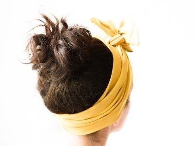 Haarband - Senfgelb