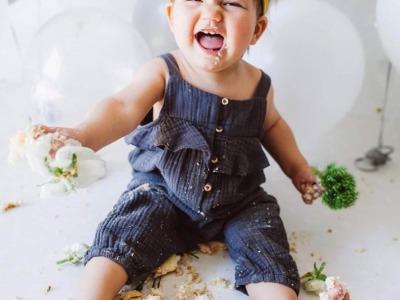 Haarband Baby - Senfgelb