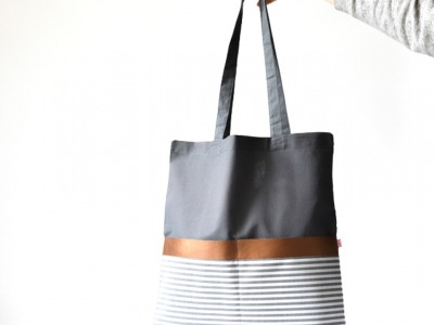 Tote Bag Grau // Kuper //