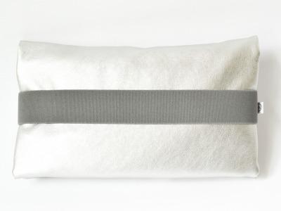 Windeltasche Silber // Grau // Grau