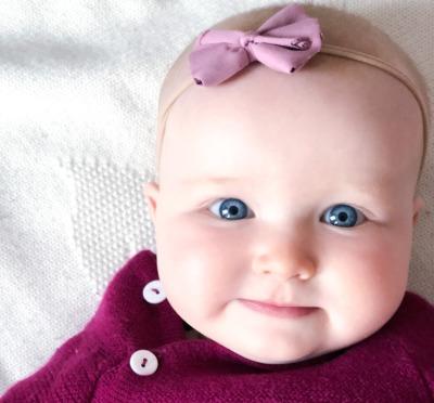 Stirnband Baby - Rosa
