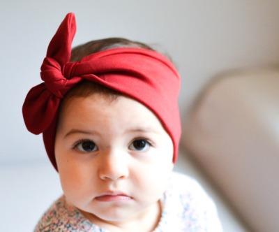 Haarband - Rot