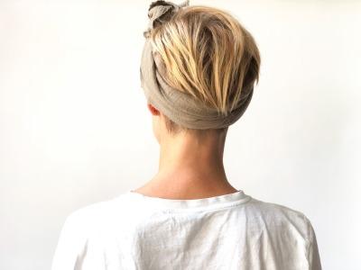 Haarband Musselin - Musselin // Schlamm