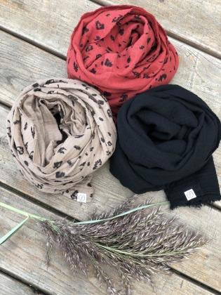 Haarband - Musselin // Schwarz