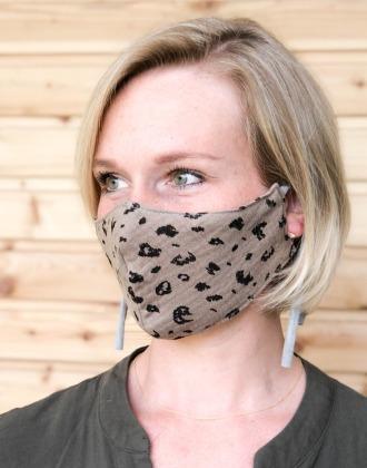 Mundmaske // Mund- und Nasenbedeckung LEO