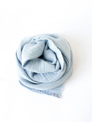 Haarband - Musselin // Himmelblau