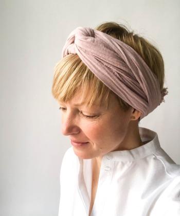 Haarband - Musselin // Kirschblüte