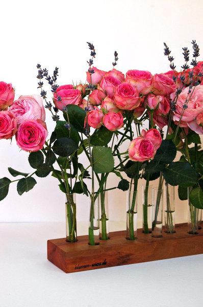 Blumenvase aus Kirschbaum 15 2