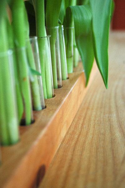 Vase aus Kirschbaum 17 3