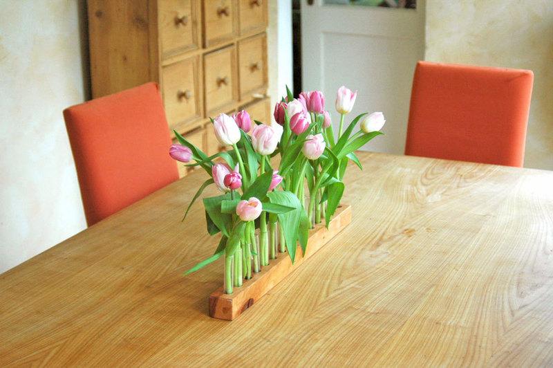 Vase aus Kirschbaum 17 4