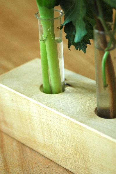 Vase aus Ahornholz 12 2
