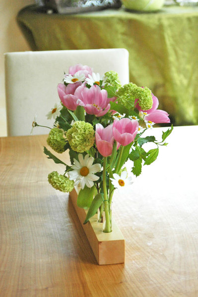 Vase aus Ahornholz 12 3