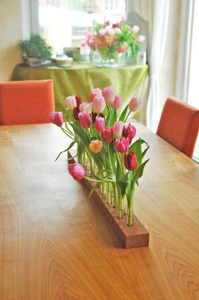 Vase aus Kirschbaum 2