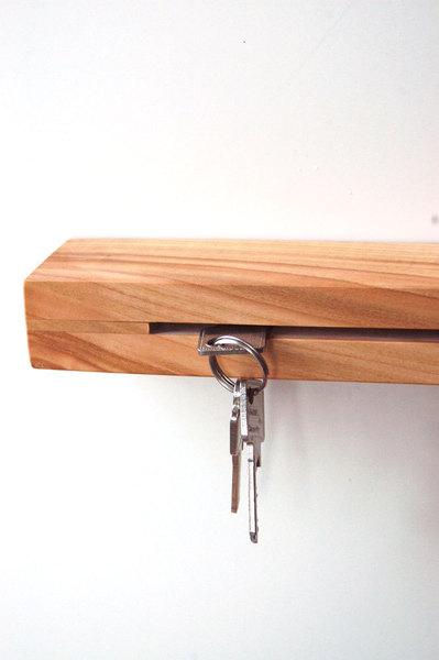 1 Schlüsselleiste in Kirsche 40cm 4