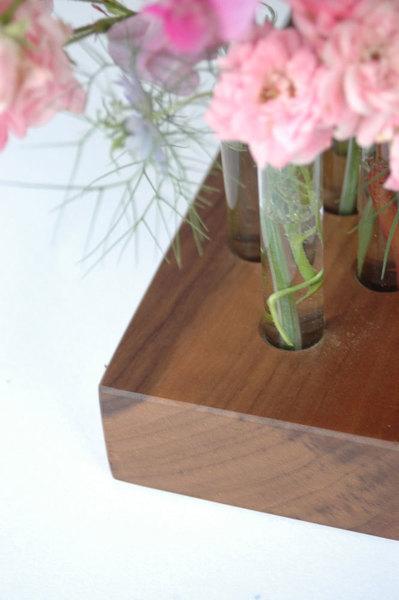 Vase aus Nussbaum 8 2