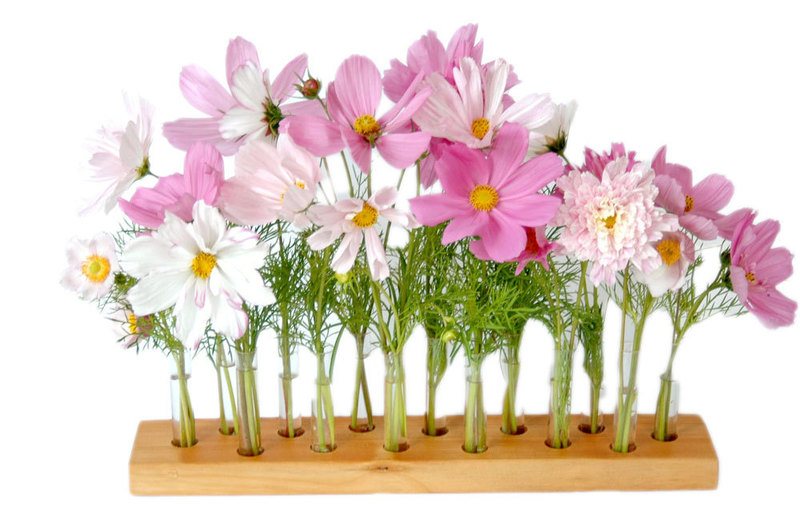 Vase aus Kirscholz 15