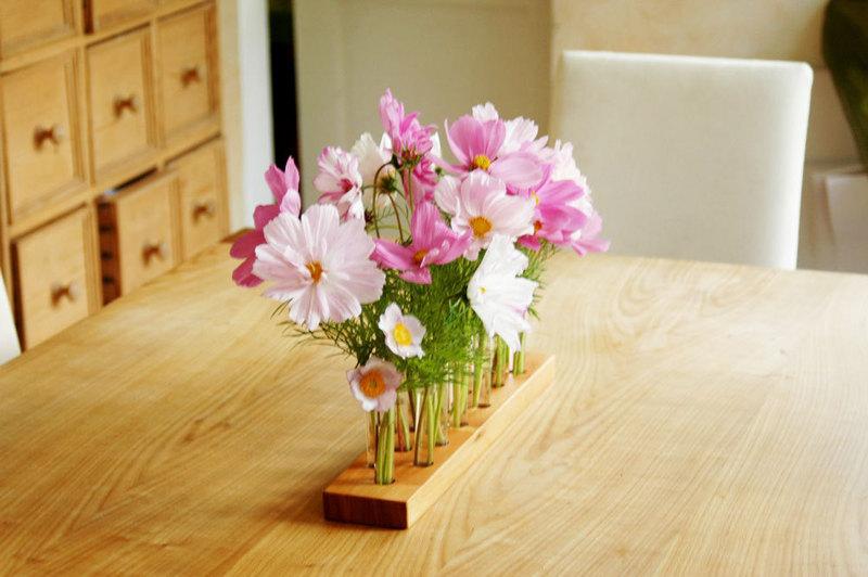 Vase aus Kirscholz 15 3