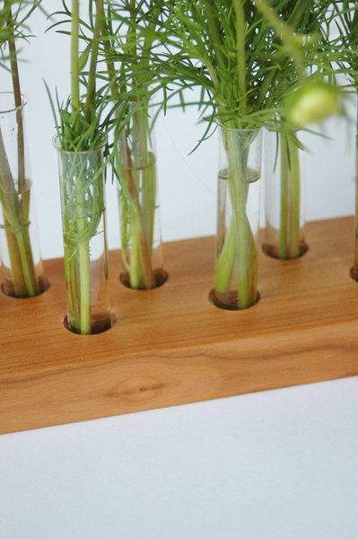 Vase aus Kirscholz 15 - 4