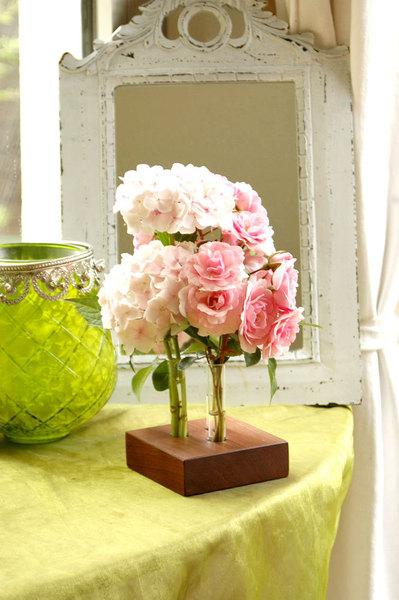 18 Blumenvase aus Nuss 3