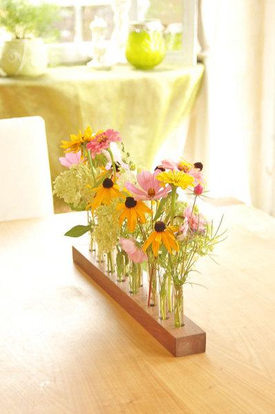 Vase aus Nussbaum 7