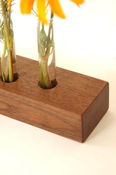 Vase aus Nussbaum 7 3
