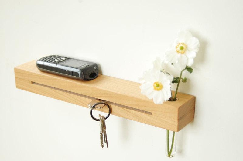 2 Schlüsselleiste in Kirsche 33cm 2