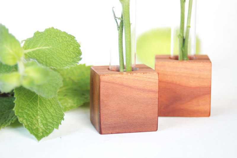 8 Kühlschrankmagnet - Pflaumenholz 4