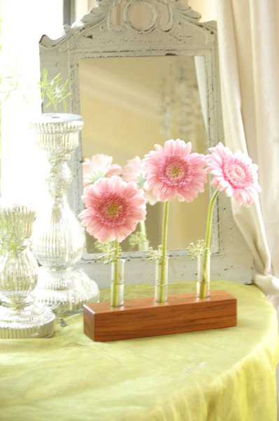 21 Blumenvase aus Nuss - 2
