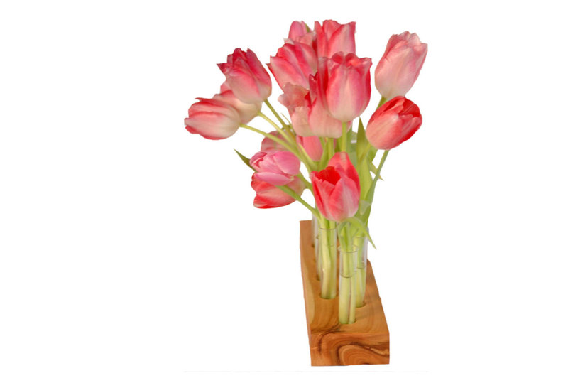Vase aus Kirscholz 15 Mini - 2