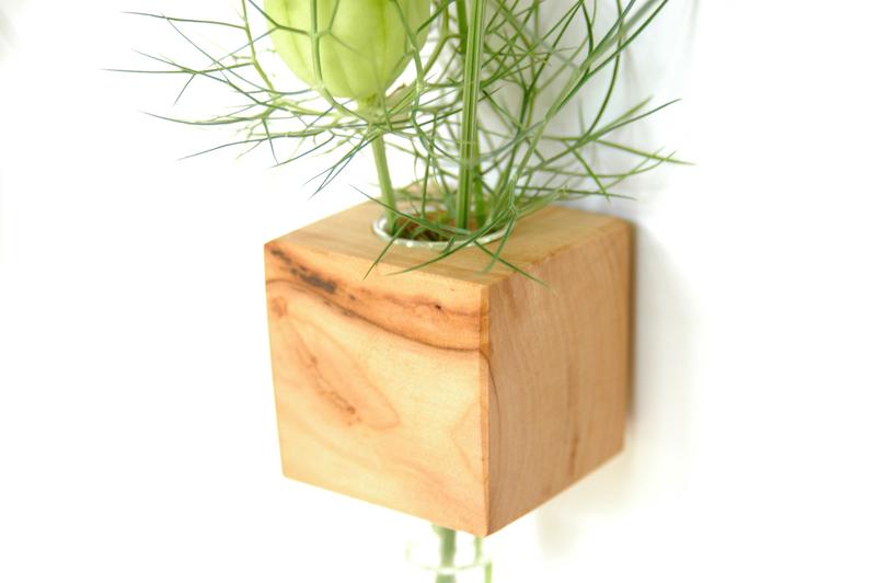 3 Kühlschrankmagnet - Apfelholz 2