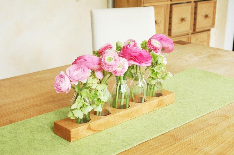 5 Milchkanne aus Kirsche,Blumenvase,Vase - 3