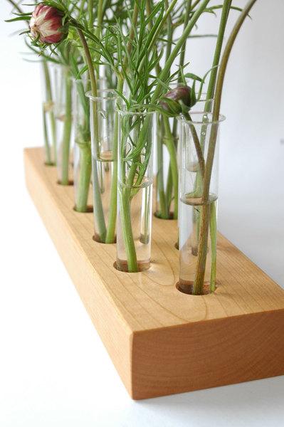 Vase aus Kirscholz 15 Mini 2
