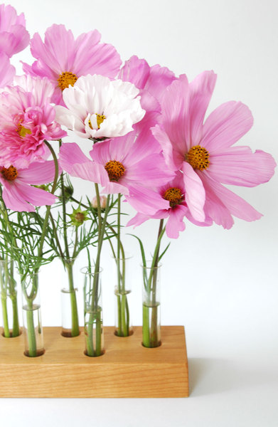 Vase aus Kirscholz 15 Mini - 3