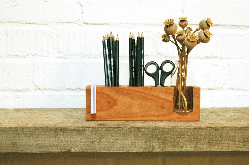 Stifthalter mit Vase und ZettelhalterAufbewahrung - 3