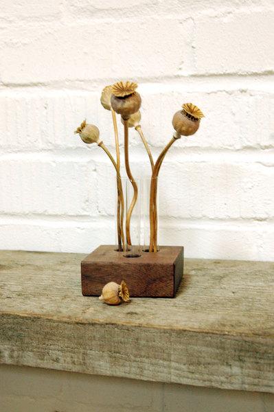 18 Vase für den Hochzeitstisch aus
