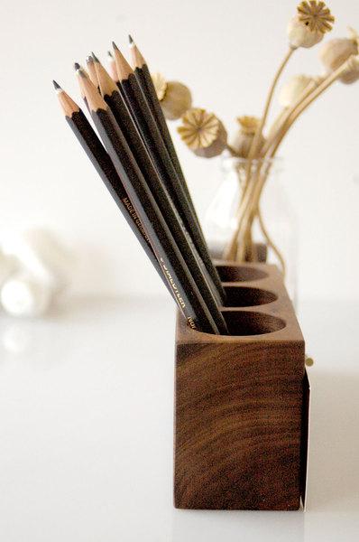 Stifthalter mit magnetischem Zettelhalter - 3