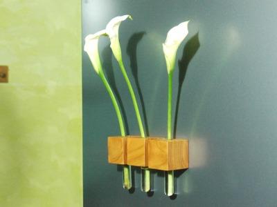 14 Vase - 3er Satz Kühlschrankmagnet aus Kir...