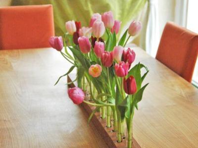 Vase aus Kirschbaum 3