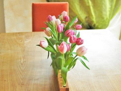 Vase aus Kirschbaum 17